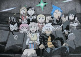 Soul Eater in cinema by MonaYuki