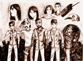 The Walking Dead - Around every Corner by Livvy-san