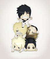 New Chibi Gazette by sixfragments