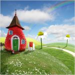 Fairy-cottage by Zuboff