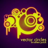 Vector Circles_brushes pack by solenero73