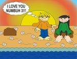 Love at the Beach by TheKnockoutKings