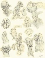 Sketch Dumps_Brainfarts2 by Ikameka