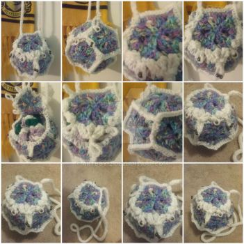 DD Dodecahedron Bag Collage by artboy-2