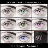 Contact Lenses v001 by andreat1508