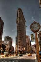 Flatiron Building by Dhaundre