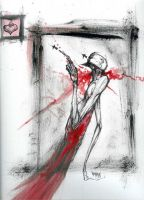 blood flying blood by ashman
