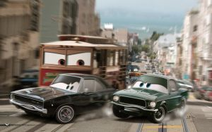 Cars | Bullitt - No title v. by danyboz