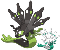 718 - Zygarde by Tails19950