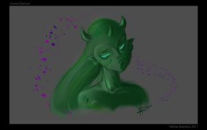 Green Demon by TentacleF00