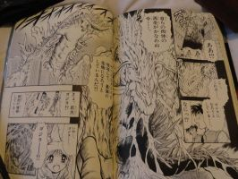 Godzilla 2000 Manga Final Fight Shot 13 by GIGAN05