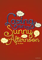 Sunny Afternoon by oneskillwonder