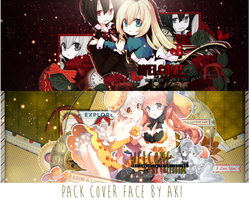 [pack cover face ] couple by akihimekawa