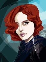 Black Widow by mysteryming