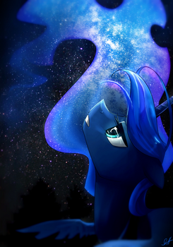 The Stargazer by UglyTree