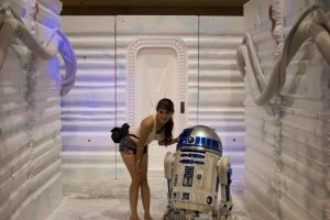 R2-D2 and I by CoyoteMoon80