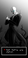 UNDERTALE: W.D. Gaster by Nsio