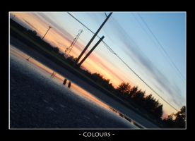 Colours by bleaches