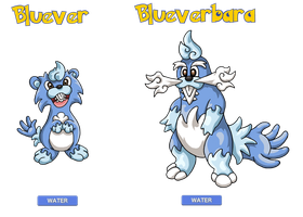 Contest Fakemon  - Bluever by Trueform
