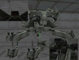 MGS: TTS Metal Gear REX (updated and final) + DL by sky-commander