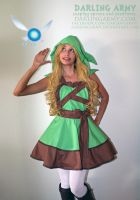 Deluxe Link - Legend of Zelda - Cosplay Pinafore by DarlingArmy