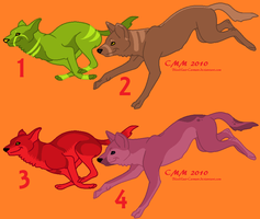 Canine Point Adopts -1 Left by CarmanMM-Dirda