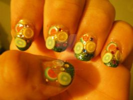 Fruity Nails by pierrettepaola