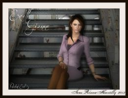 RE5 Excella Gionne (Beta outfit) by IamRinoaHeartilly