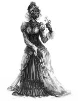 Victoriana: Orc by Merlkir