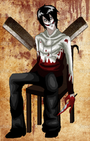 Jeff the Awsome Killer by AngelKiller666