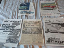 Hudson Hornet Car Ad Collection 2 by k-h116