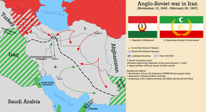 Anglo - Soviet war in Iran by Sevgart