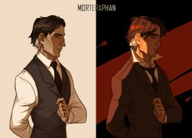 Light and Dark by morteraphan