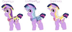 AU: Twilight's Many Suits of Armor by Strawberry-Spritz