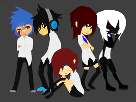 IBA the group collab by Shadowgirl96