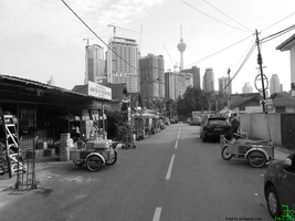 monochrome _ traditional and modern 20140208 2 by K4nK4n
