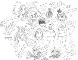 667's doodles by The-real-Vega777