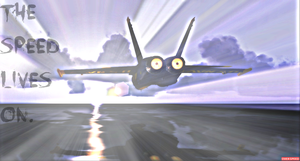An Angel Of Speed. (Blue Angel's Memorial) by TheOnePhun211