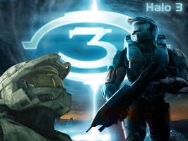 Halo 3 Wallpaper by IshaanMishra