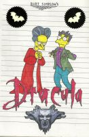 Bart Simpson's Dracula by Aeruhl