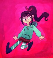 Vanellope by mewsingmage