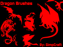 Dragon Brushes by GimpCraft
