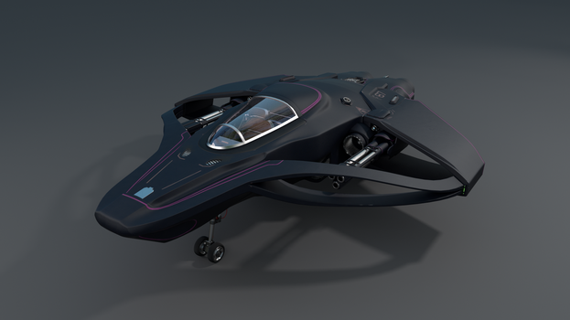 Spaceship 1 by Canapy-3D