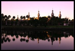 University of Tampa Reflection by tyt2000