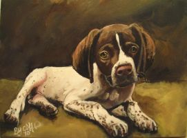 Gage my painting by cliford417
