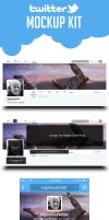 Twitter Kit (Freebie) by shahriyer