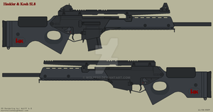 Heckler and Koch SL8 by Wolff60