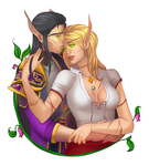 Commission:  Blood Elves by andarix