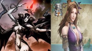Inspirations of Demon Queen of Darkness, Narminah