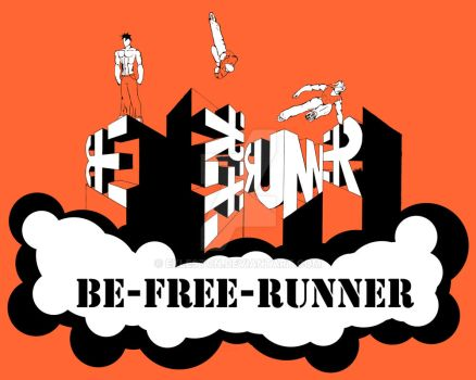 BE-FREE-RUNNER (color) by Exleston